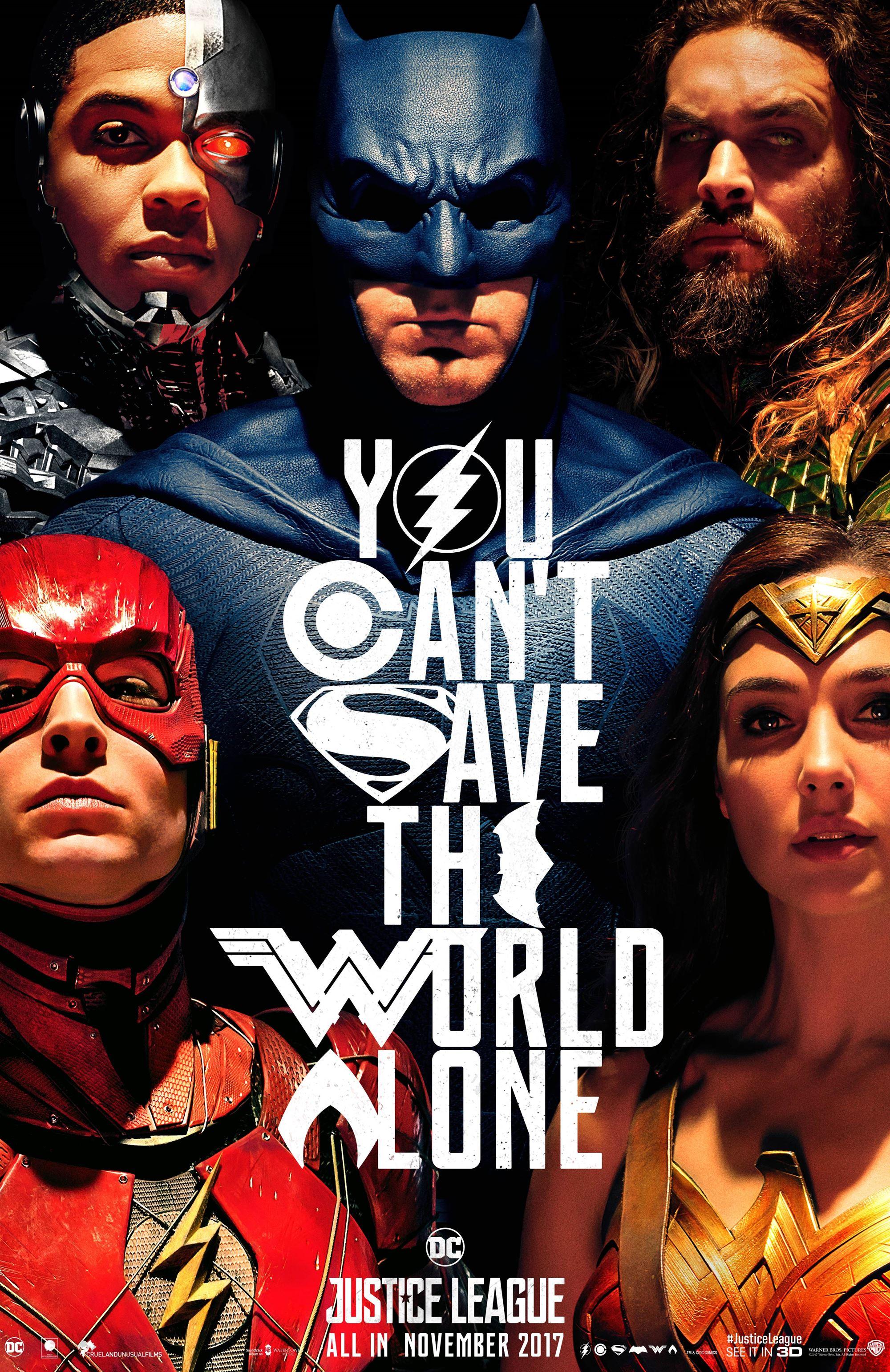 Justice League SDCC Poster