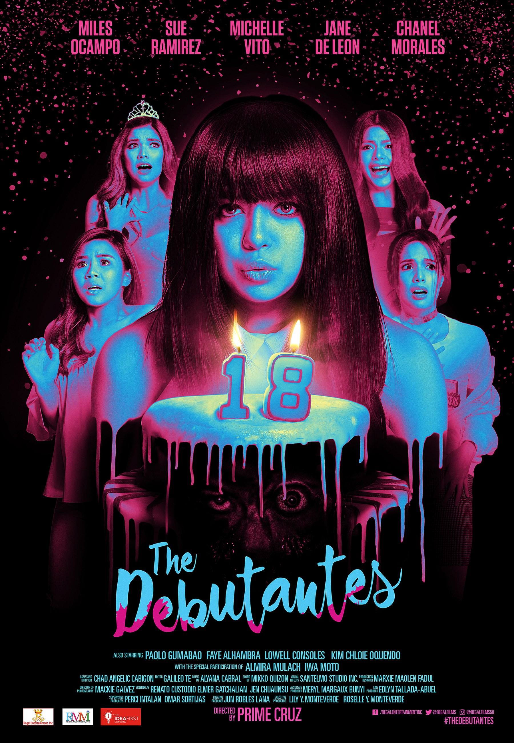 The Debutantes Poster
