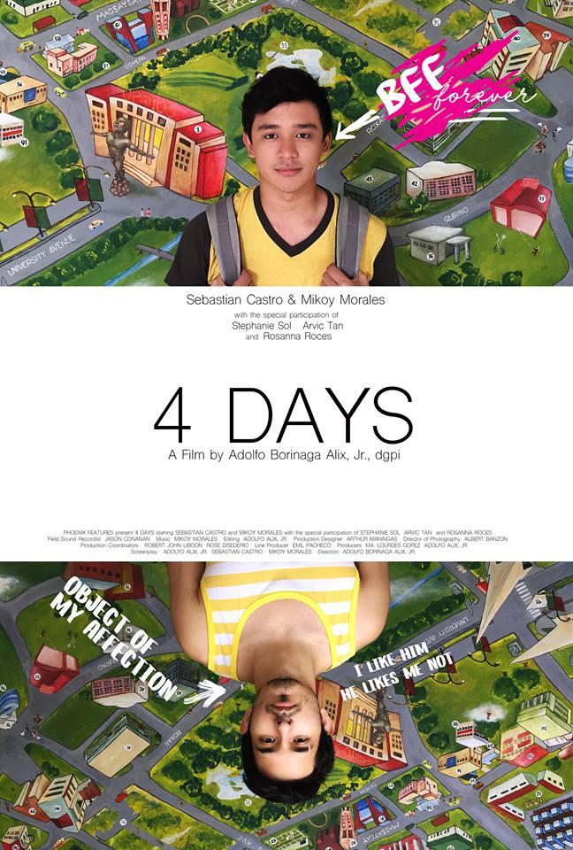 4Days - poster art