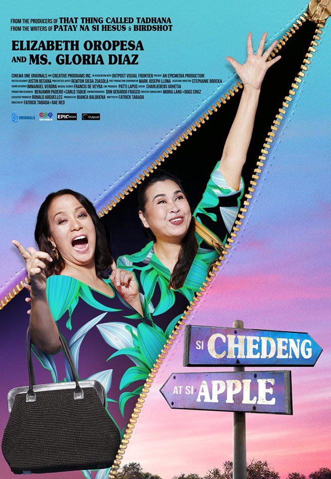 Poster Si Chedeng at si Apple
