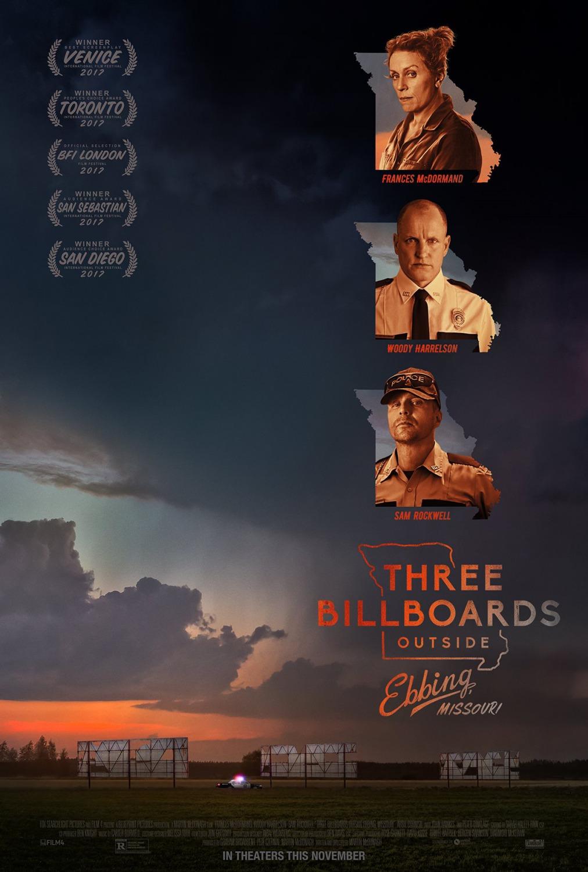 14 Three Billboards Outside Ebbing Missouri