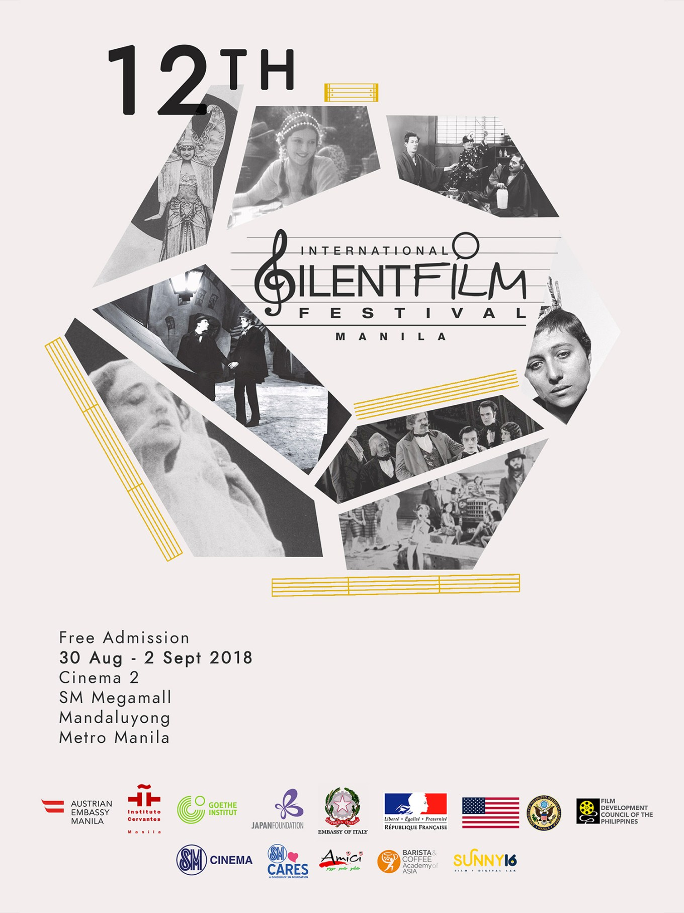 ISFF '18 - Silent Film Festival 2018