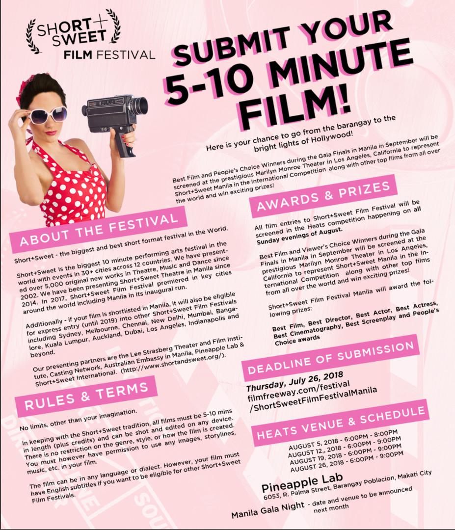 Short Sweet Film Festival 03
