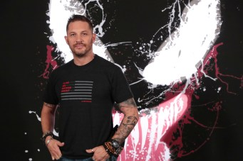 Beverly Hills, CA - Sept.27, 2018: Tom Hardy at Sony Pictures 'VENOM' Photo Call