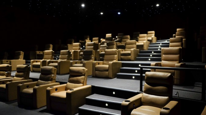 SM Cinema Omoc's 40-seater Director's Club Cinema