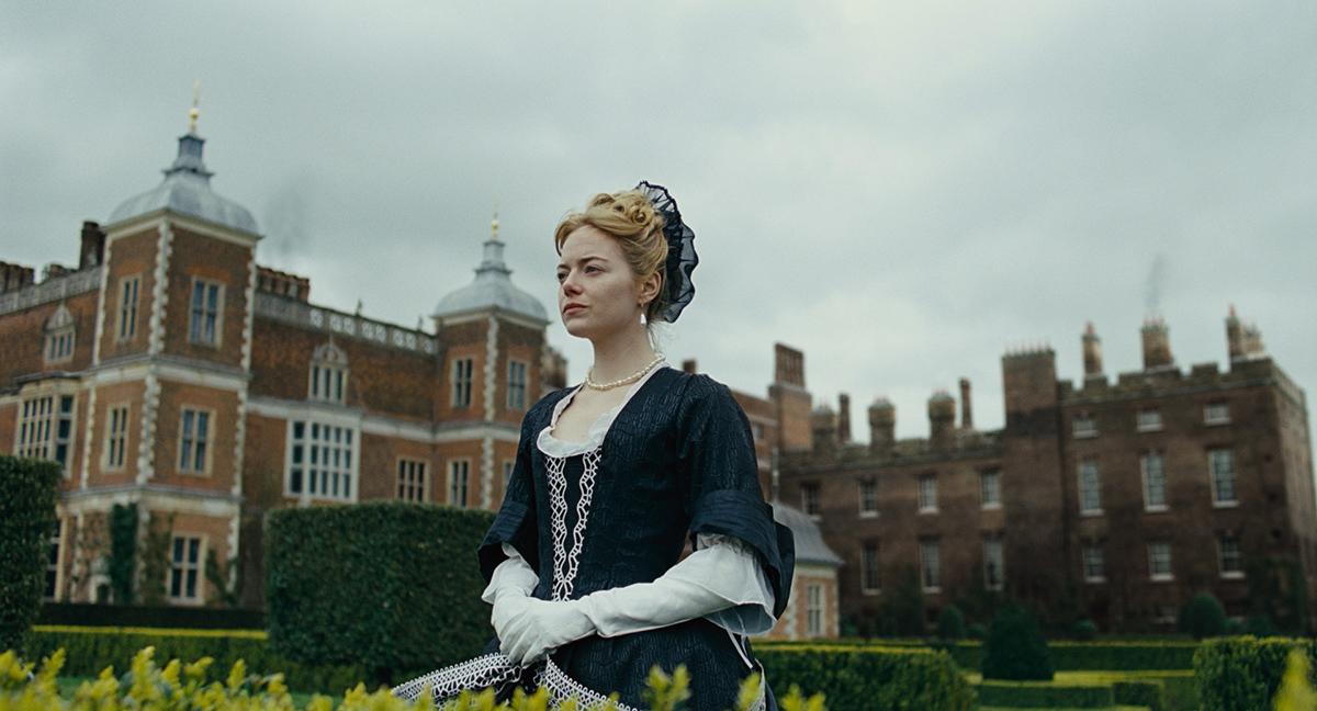 Emma Stone The Favourite (1)