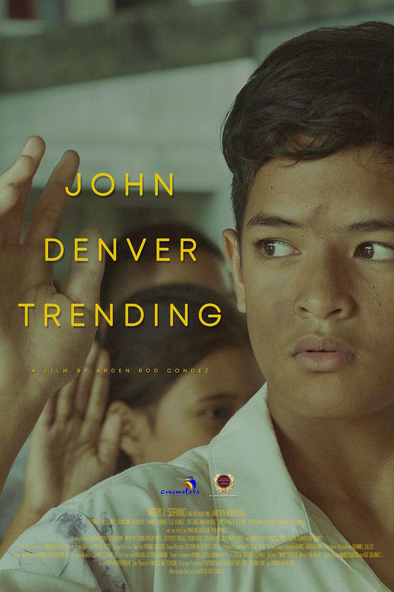 Cinemalaya John Denver Trending Poster