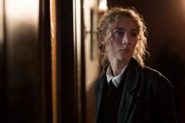Jo March (Saoirse Ronan) in Greta Gerwig's LITTLE WOMEN.