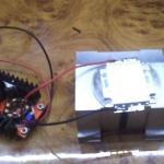 Разгон светодиода на 50 ВАтт потребляемую в 400 Ватт световую