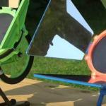 Двигатель Стирлинга, работающий от тепла и от солнца, напечатанный на 3D принтере