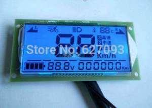Многофункциональный вольтметр термометр спидометр для  64 В 80 В
