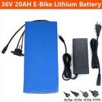 Самые доступные аккумуляторы для электротранспорта на Литии от 24В до 72 В