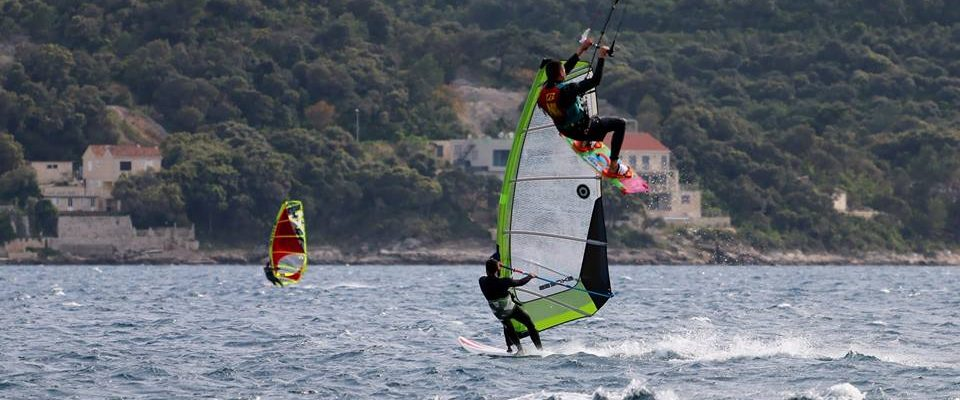 Viganj windsurfing kite