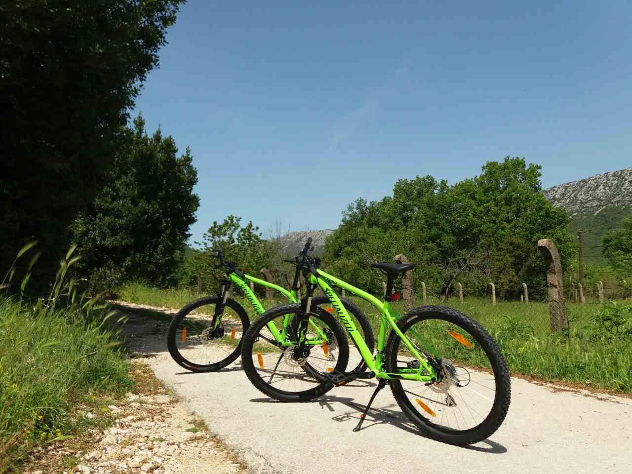 Bike Tour Napoleon road Peninsula Pelješac Croatia