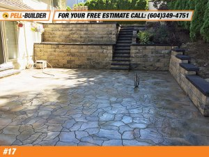 Paving Stone Backyard