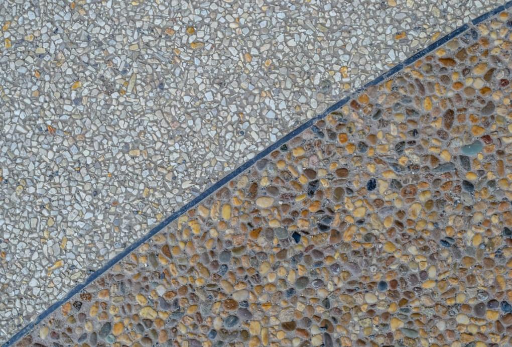 Exposed Aggregate Concrete Finish