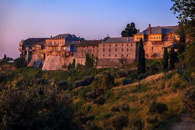 Monastero della Grande Lavra, Monte Athos