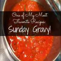 A Family That Cooks Together - Our Sunday Gravy Recipe
