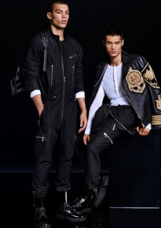 Balmain x H&M lookbook (men)