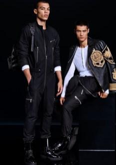 Balmain x H&M lookbook (men)