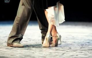 Tangos em Buenos Aires casal dançando