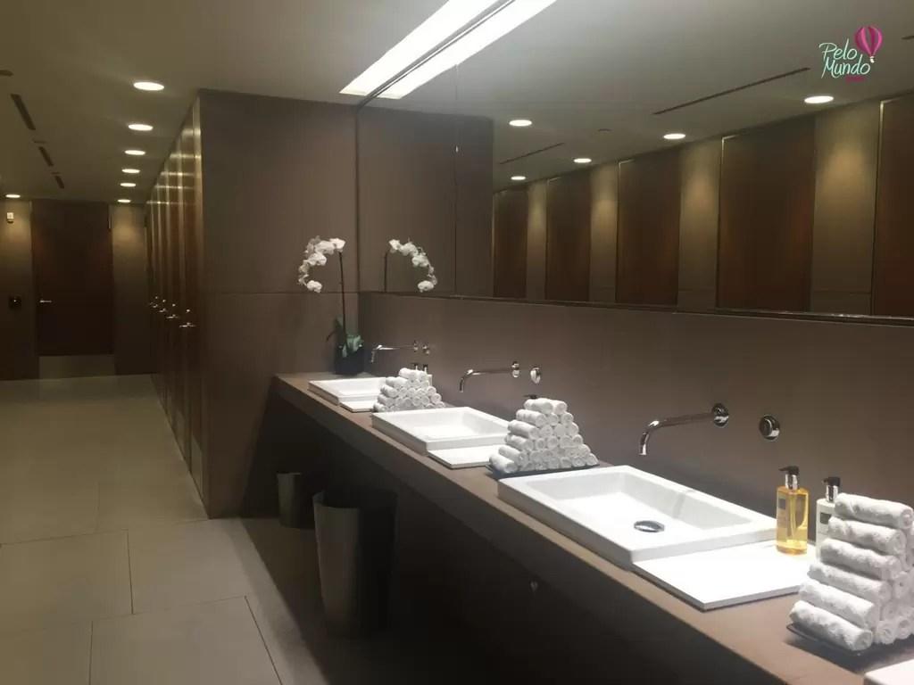 Banheiro Lounge Qatar