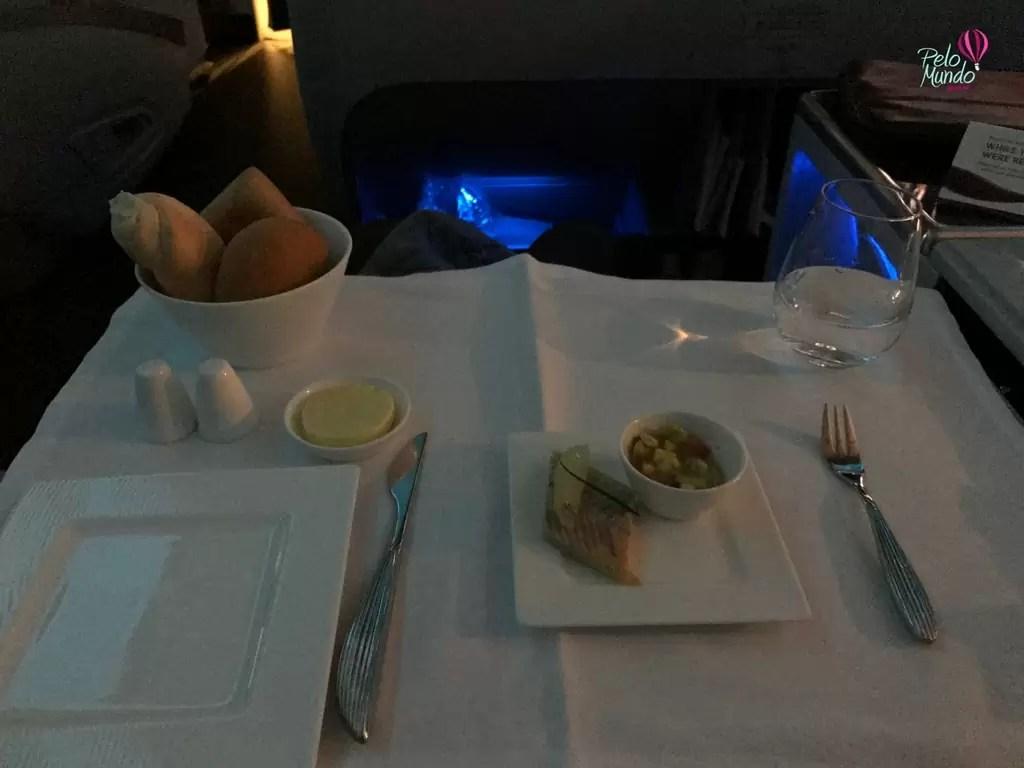 Comida Qatar Airlines