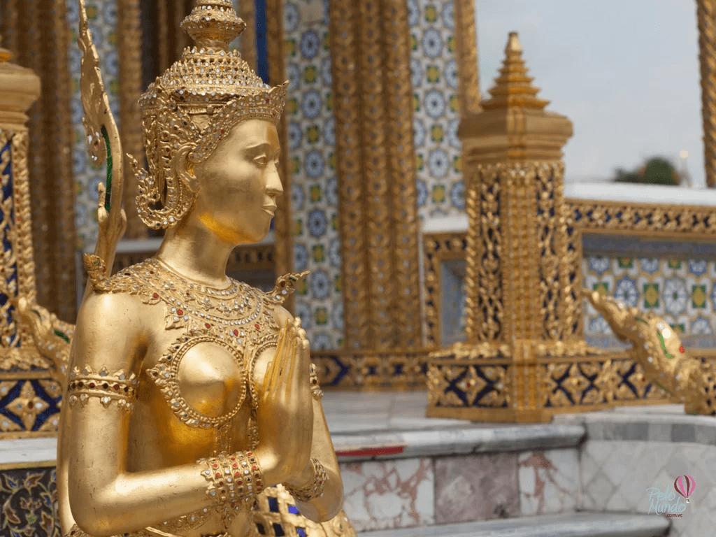 TEMPLO DE ESMERALDA - Wat Phra Kaew - TEMPLOS EM BANGKOK