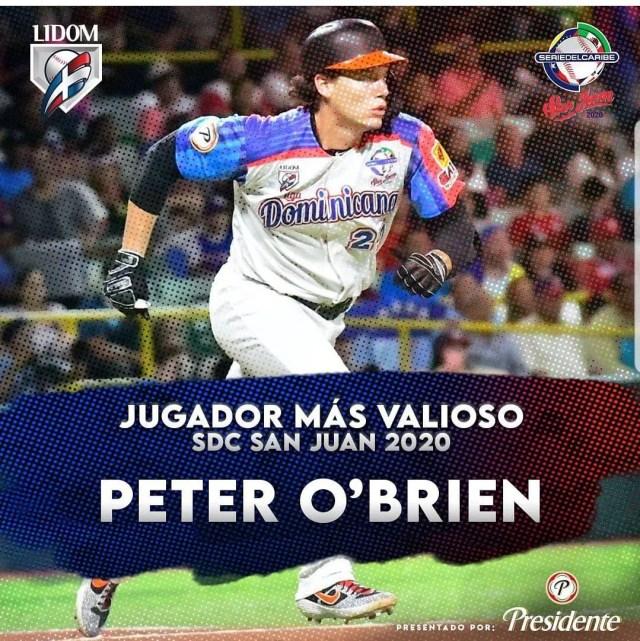 O'Brien es JMV y Dominicana se corona por vigésima vez en la SDC