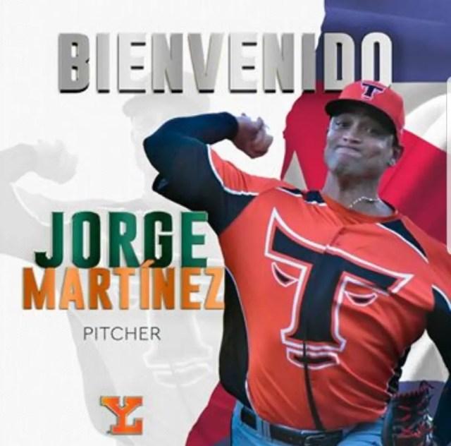 Jorge Martínez sera un león este verano