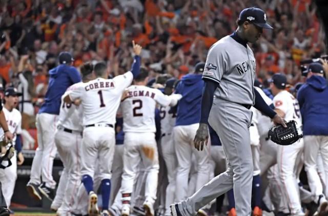 Chapman le responde a los Astros sobre el robo de señas