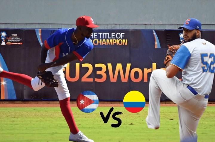 Jonathan Carbó (Derecha) enfrentará a Luis Gabriel Moreno (Izquierda) en el Campeonato Mundial de a Béisbol Sub-23