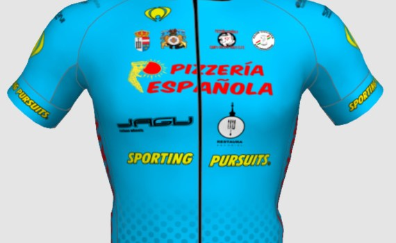 Maillot Pizzería Española Jagu Wheels Sporting Pursuits 2017