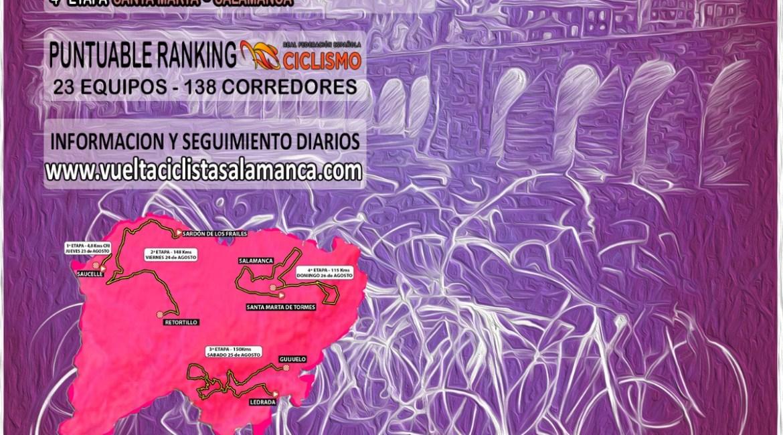 Cartel Vuelta a Salamanca