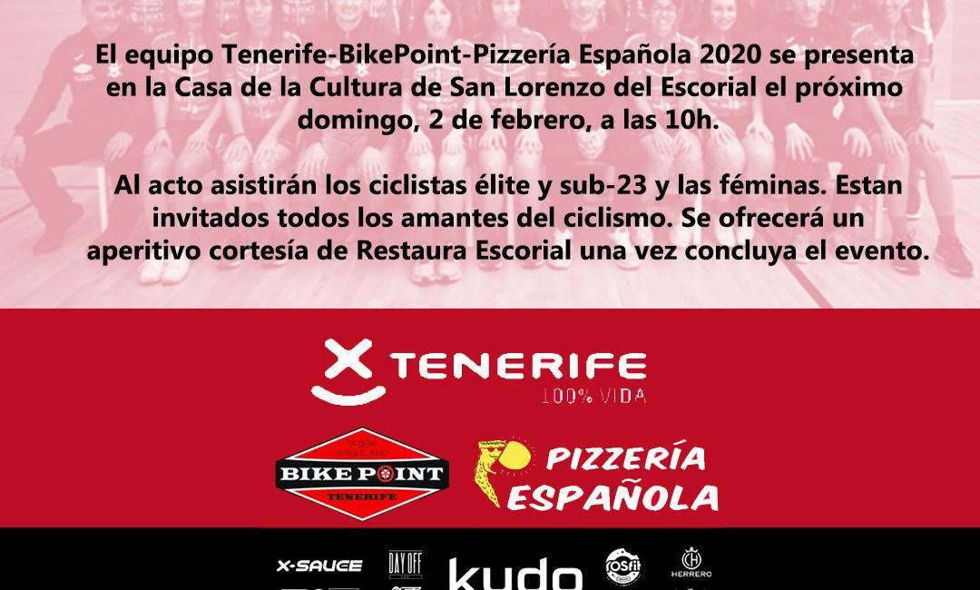 Cartel Presentación 2020 Pelotón Tenerife