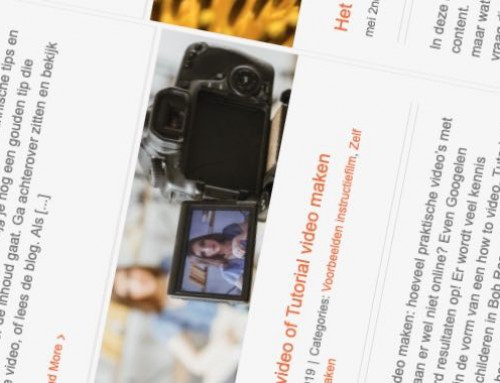 Film- en video blogs op maat