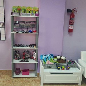 Cepillaos y juguetes preferidos