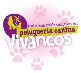 Logotipo Peluquería Canina Vivancos