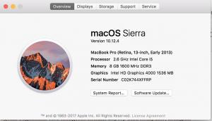 About this mac, cek kondisi mac