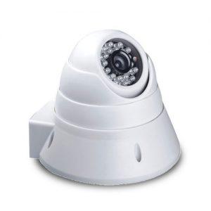 enis kamera CCTV umumnya terbagi menjadi sistem CCTV kabel dan tanpa nirkabel (wireless). Sistem CCTV kabel memberi kelebihan kualitas gambar terbaik tanpa adanya gangguan. Kamera dengan kabel biasanya menggunakan colokan BNC yang dapat dihubungkan ke monitor TV dengan menggunakan adaptor atau disambungkan langsung ke Digital Video Recorder