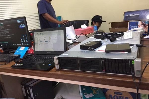 Project jasa instalasi jaringan komputer LAN server