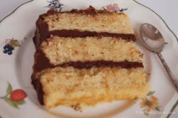 Orange Chocolate Layer Cake