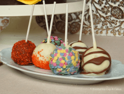 Orange Chocolate Cake Pops