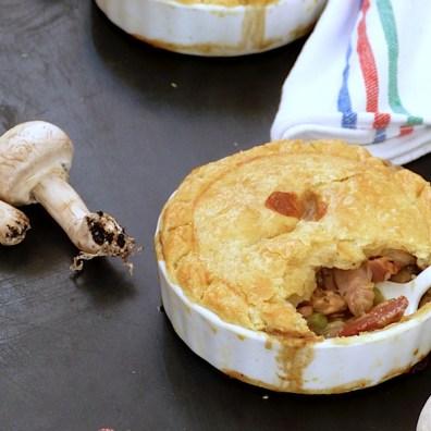 Chicken Pie {Pastel de Pollo}
