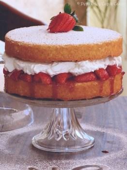Victoria Sponge Cake {Tarta Victoria}