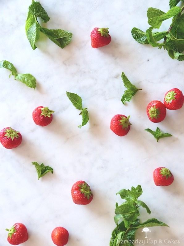 Eton Mess {Strawberries & Mint}
