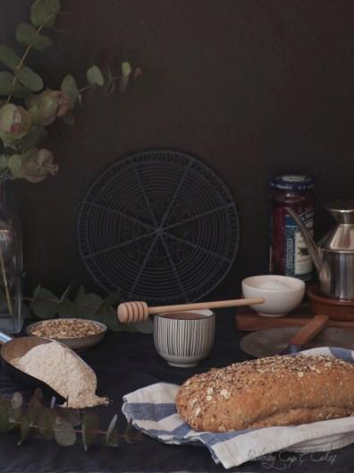 Pan integral con semillas