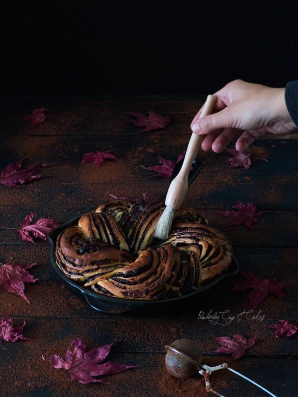 Dark Chocolate Babka (Babka de chocolate)