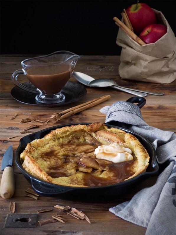 Apple Dutch Baby (German pancakes)