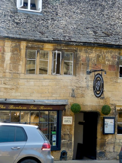 The Bantam Tea Rooms, Chipping Campden, Gloucestershire, Cotswolds